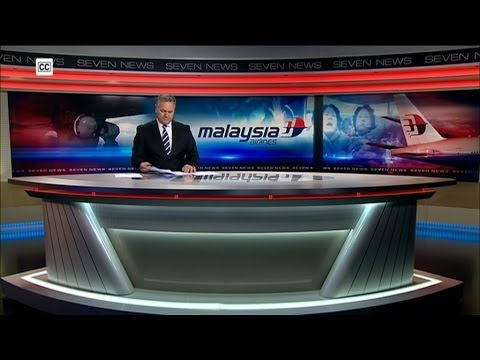 Seven News Melbourne - The Loss of Malaysia Airlines Flight MH370: Special Bulletin [25.03.14]
