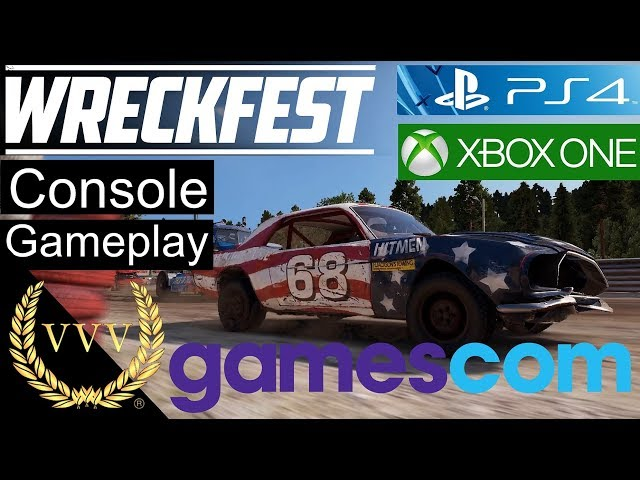 Wreckfest PS4 and Xbox One Gameplay Preview - Gamescom 2019