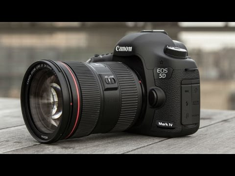 Official Canon EOS 5D Mark IV Introduction promo