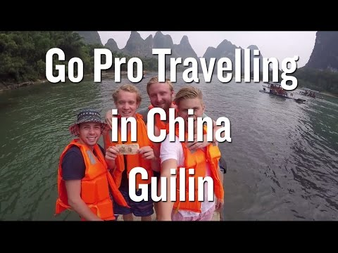 Go Pro Travelling in China - Guilin