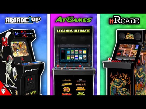 Yet Another Home Arcade Podcast - Episode 1 Arcade1up | AtGames | iiRcade from Console Kits