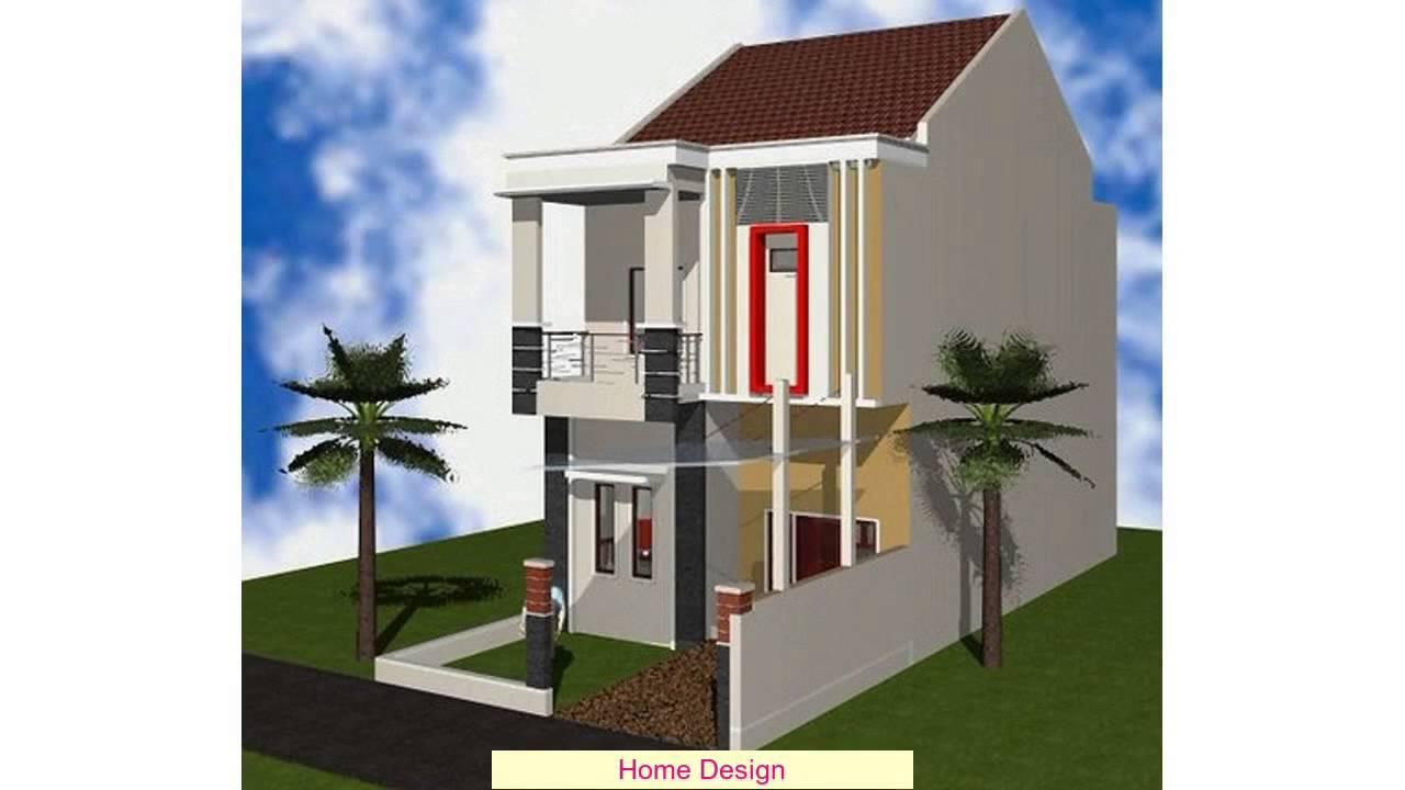 Desain Rumah Minimalis Modern 2 Lantai Type 36 Youtube
