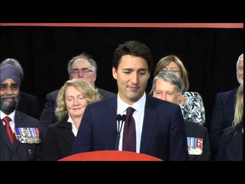 Trudeau Commits To Major Investments For Veterans At Event In Belleville