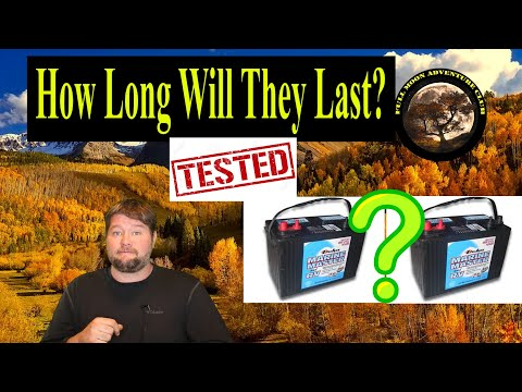 How Long Will Two 12 Volt Batteries Last In Your RV? Testing Dual RV Battery Set Ups 2020