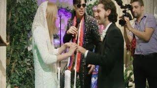 Shia LaBeouf y Mia Goth se casan en Las Vegas