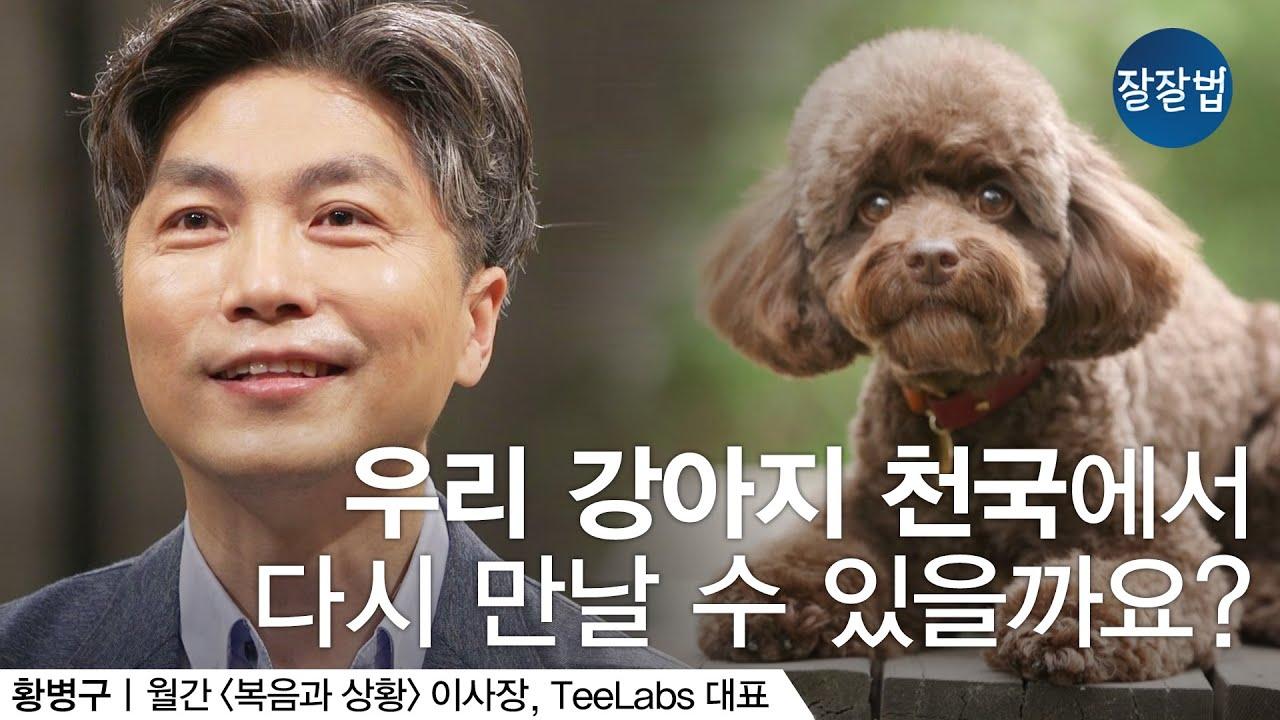 [재업로드] 우리 강아지, 천국에서 다시 만날 수 있을까요?ㅣ복음과 상황 이사장, TeeLabs 황병구 대표ㅣ잘잘법 Ep.71