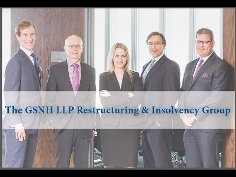 Mario Forte Introduces the GSNH LLP Restructuring & Insolvency Group