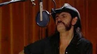 Acoustic version, circa 2001. Unplugged Lemmy and Phil Campbell. So...