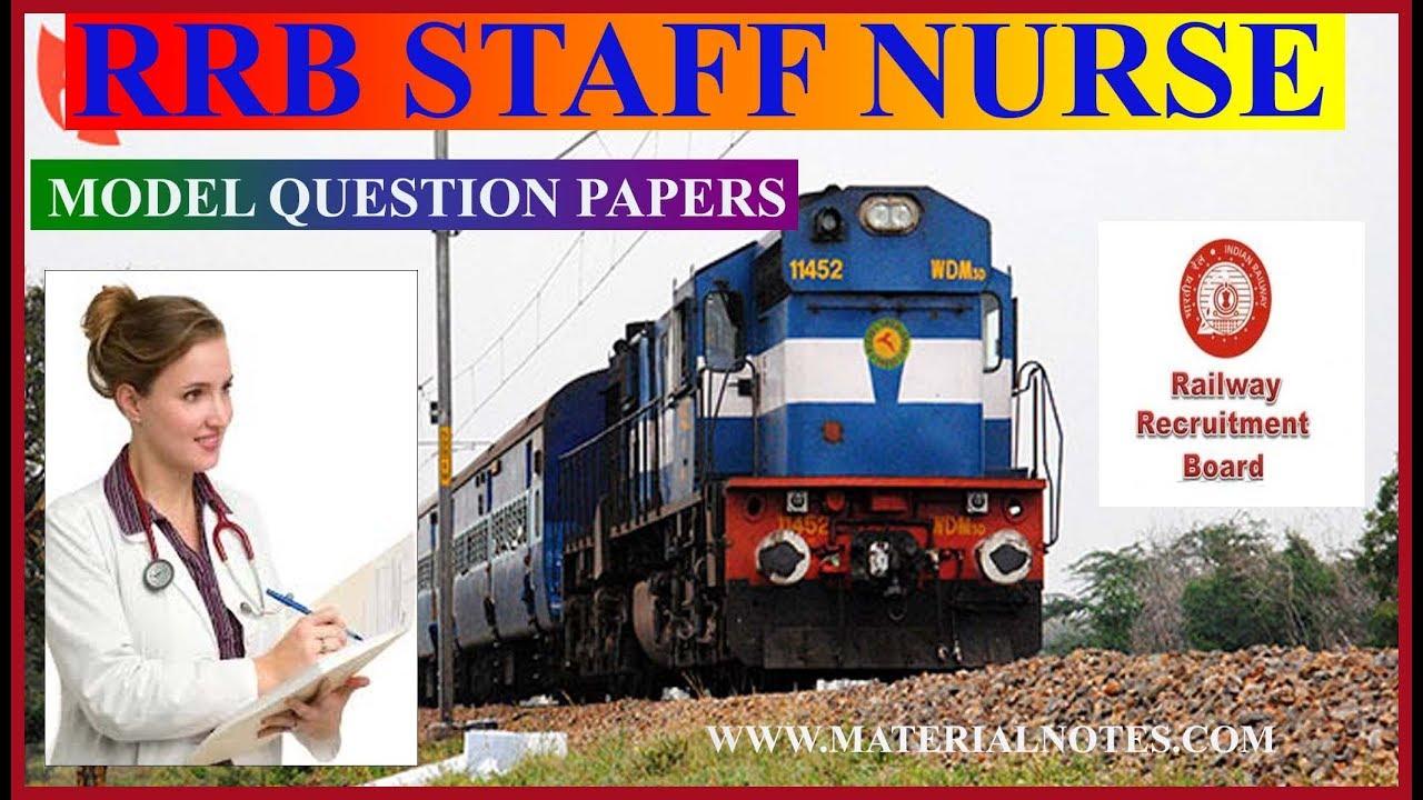 RRB STAFF NURSE QUESTIONS - YouTube