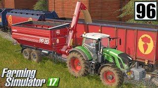 Żniwa na dwa kombajny - Farming Simulator 17 (#96)