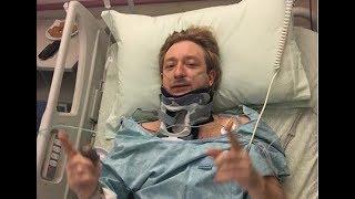 Евгений Плющенко перенес срочную операцию из-за болей в позвоночнике: комментарий Яны Рудковской