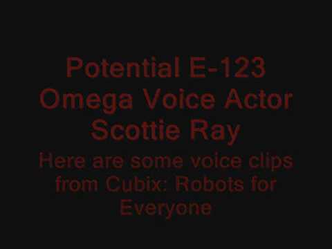 Potential E-123 Omega Voice Actor