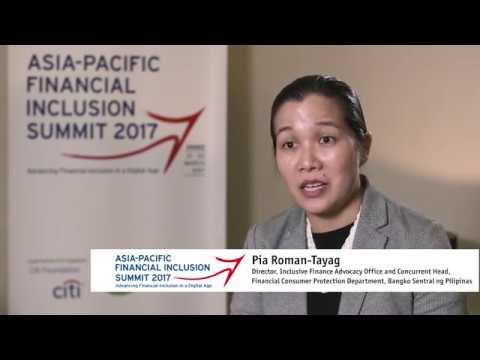 Pia Roman Tayag   Asia Pacific Financial Inclusion Summit 2017