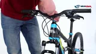 Сборка горного велосипеда RUSH из коробки
