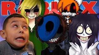 CREEPYPASTA IN AREA 51 | Roblox Adventures - Roblox Gameplay