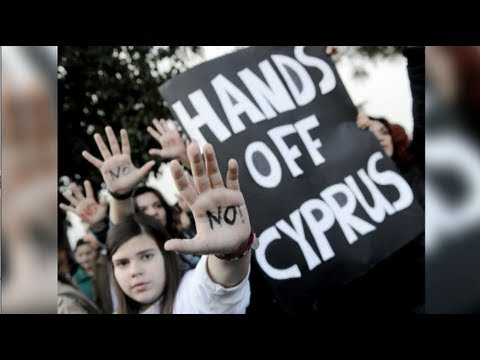 A People's Revolt in Cyprus: Richard Wolff on Protests Against EU Plan To Seize Bank Savings