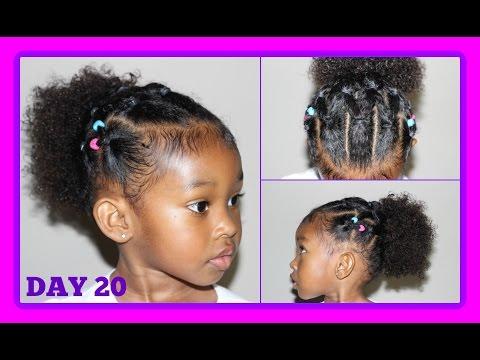 Cute Hairstyle For Curly Hair Kids 30 Days Of Hairstyles