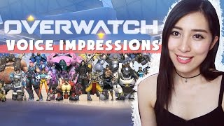 OVERWATCH - 22 Voice Impressions!