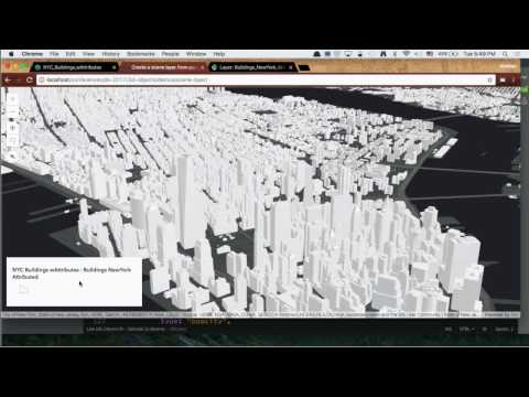 Bringing Your Data to Life in the ArcGIS API for JavaScript: 3D Objects