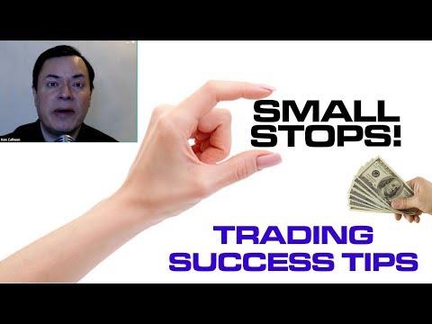 Small Stop Losses : Visual Trading Tool Ep#041
