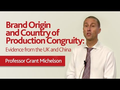 [JCUS Colloquia 2016] Brand Origin and Country of Production Congruity: