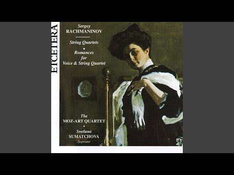 Ten romances, Night is mournful, 1906, Op. 26 No. 12