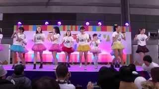 2014年3月23日 ふくしま再興祭り 2014 ビックパレット福島 アキバオンス...