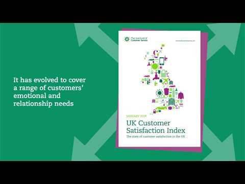 Institute of Customer Service - January 2019 UK Customer Satisfaction Index (UKCSI)