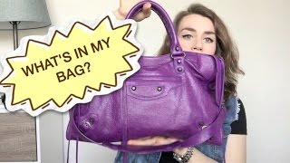 What's In My Bag? ~Balenciaga City!