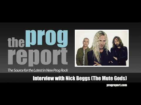 Interview with Nick Beggs (The Mute Gods) - The Prog Report Mp3