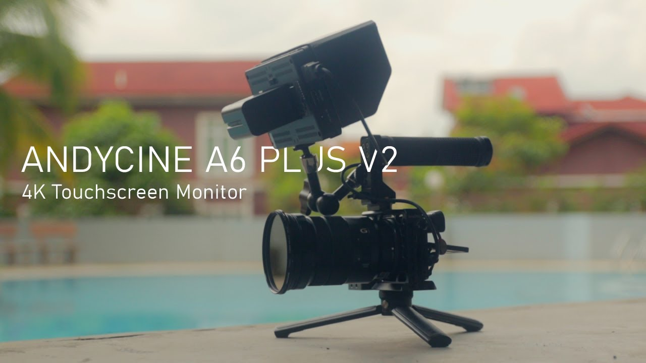 ANYDCINE A6 PLUS V2 | The best budget Touchscreen Monitor for camera in 2020