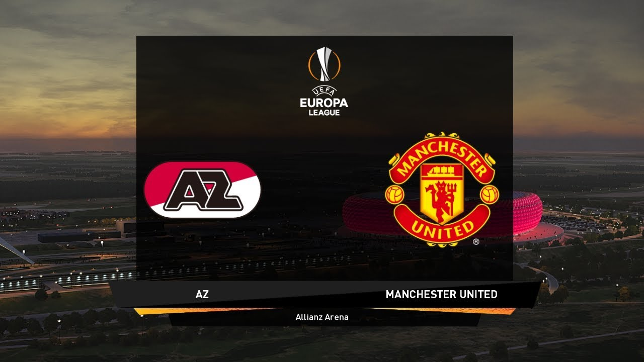 Az Alkmaar Vs Manchester United Europa League Pes 2020