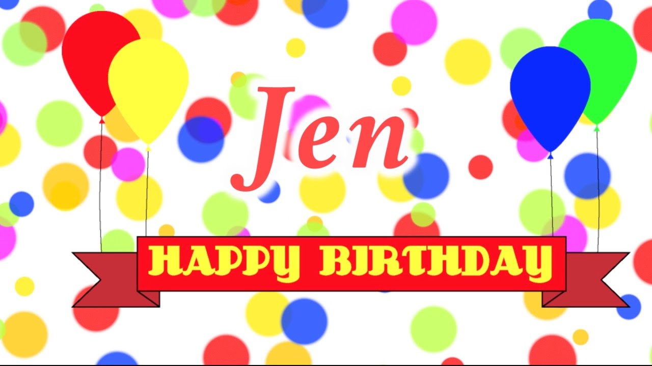 Happy Birthday Jens