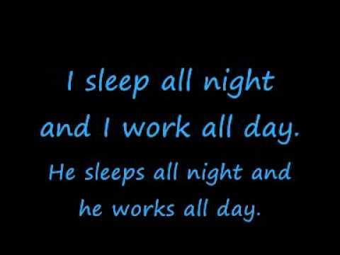 The Lumberjack Song - Lyrics