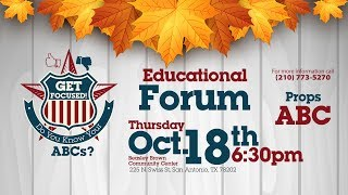 Get Focused! Educational Forum