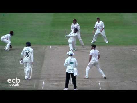 Highlights: Northamptonshire v Gloucestershire - Day 2