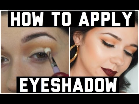 Tutorial: How to Apply Eyeshadow For Beginners