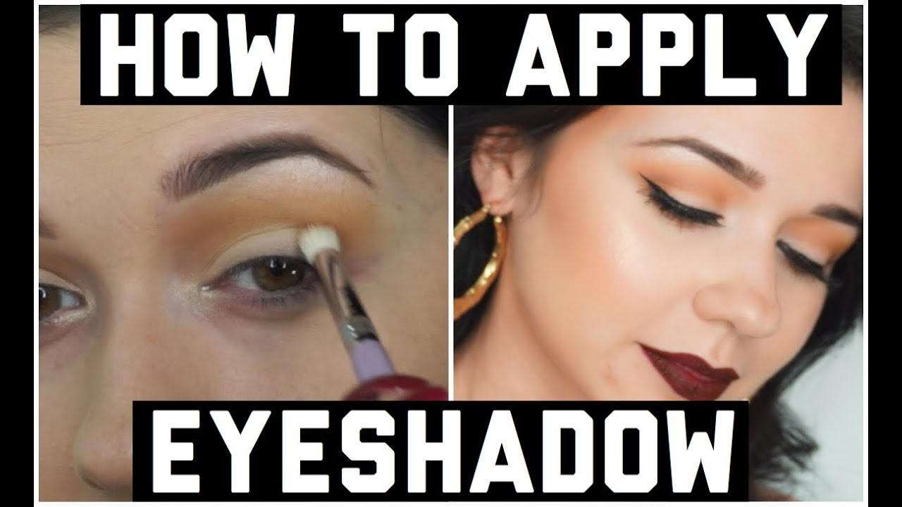 How to Apply Eyeshadow For Beginners - Makeup 101 - YouTube