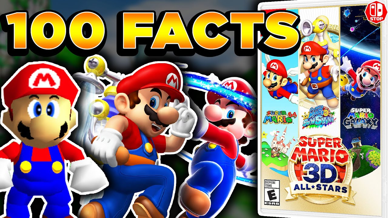 100 Fun Facts About The Super Mario 3D ALLSTARS Collection!