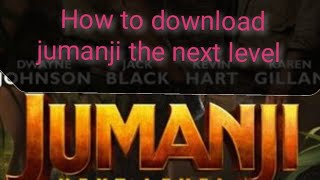 How to download jumanji the next level in tamil/ aim 50 likes