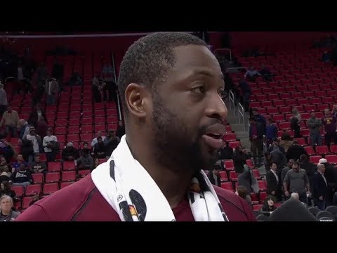 Dwyane Wade Postgame Interview / Cavaliers vs Pistons / Nov 20