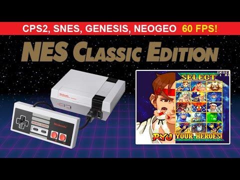NES Classic: CPS2, Snes, Gens, NeoGeo Gameplay 60fps