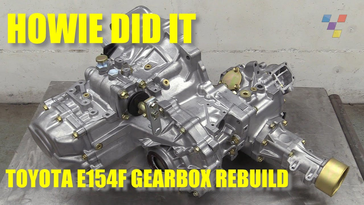 Howie Did It - Toyota E154F Gearbox Strip and Rebuild
