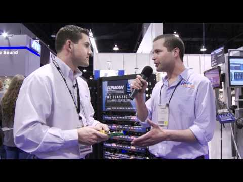 Furman (Power Management Protection Standard vs. Advanced) - NAMM 2012 - AudioSavings