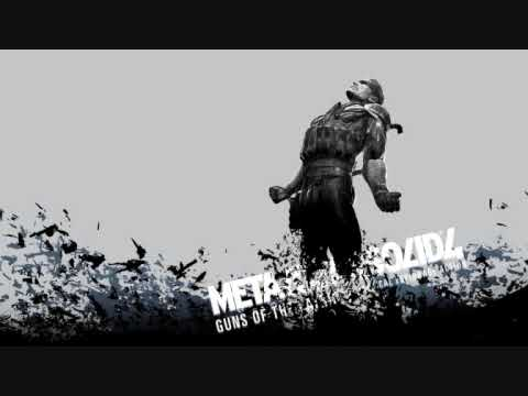 Metal Gear Solid 4 - Old Snake (ONLY GUITAR PART)