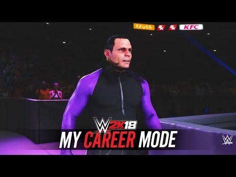 WWE 2K18 My Career - Ep 9 - EXTREME RULES!! JEFF HARDY!!