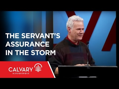 The Servant's Assurance in the Storm - Mark 6:45-52 - Gino Geraci