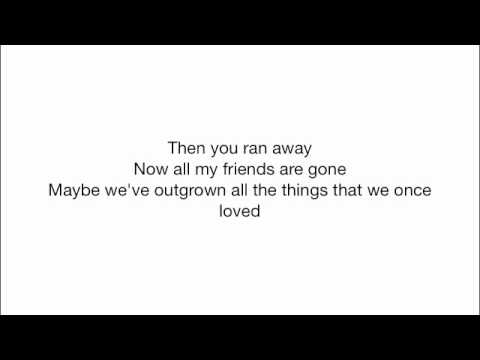 Rise Against - Audience of one (Acoustic with lyrics)