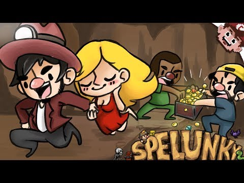 TRUST NO ONE IN THESE MINES! (Spelunky Couch Co-op - Part 2)