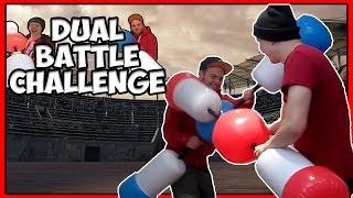 Dual Battle Challenge - Tomohawk Vs Squid (Fight !!!)
